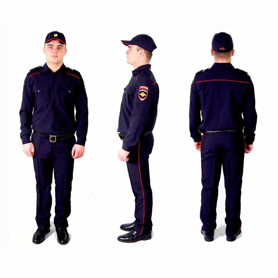 Форма полиции россии нового образца